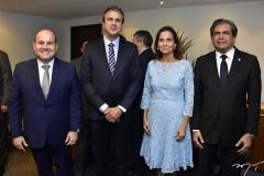 Roberto Cláudio, Camilo Santana, Izolda Cela e Zezinho Albuquerque