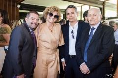 André Campos, Joseane França, Assis e Francisco Sousa