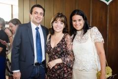 Bruno Rebolças, Débora Rios e Estela Sales