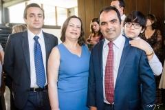 Bruno Rebolças, Georgia Polinário, Pereira Junior e Thiago Pereira