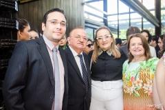 Getúlio Almeida, Antônio Almeida, Rosa Almeida e Izabel Cruz