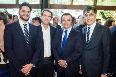 Guilherme Landim, Alexandre Landim, Juvêncio Viana e Hugo Figueiredo (2)