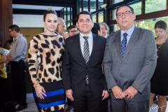 Lívia Mota, Audic Mota e Maurício Pinheiro
