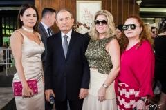 Luciana Sousa, Luiz Bessa,Valeska Rolim e Lisieux Brasileiro