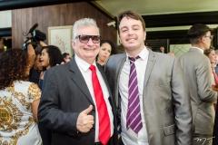 Luiz Carlos e Leonardo Facó
