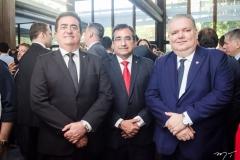 Ricardo Macedo, Jardson Cruz e Pedro Jorge Medeiros