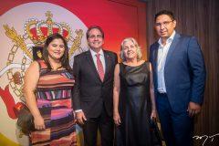 Ana Maria Bacelar, Ricardo Bacelar, Auxiliadora Bacelar e Diego Carvalho