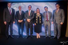 Cid Marconi, Jean Paul Charlier, Ricardo Bacelar, Fernanda Iesen, Patrick Herman e Leonardo Carvalho