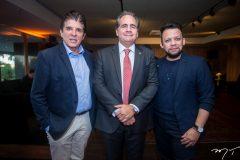Dito Machado, Ricardo Bacelar e Roberto Alves