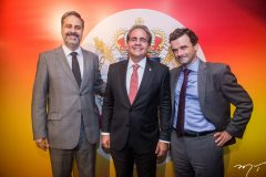Erinaldo Dantas, Ricardo Bacelar e Patrick Herman
