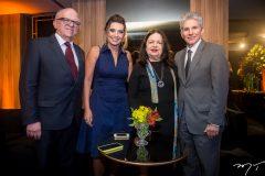 Fernando Ximenes, Márcia Travessoni, Amelinha e Pádua Lopes