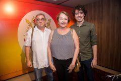 Ive Quintão, Ana Maria Sampaio e Mateus Fontenele