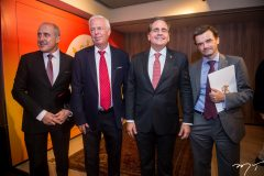 Jean Paul Charlier, Luis Plasc, Ricardo Bacelar e Patrick Herman