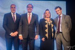 Jean Paul Charlier, Ricardo Bacelar, Fernanda Iesen e Patrick Herman