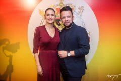 Manoela Bacelar e Roberto Alves