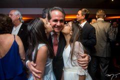 Maria, Ricardo e Sara Bacelar