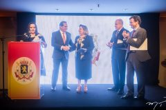 Norma Zélia, Ricardo Bacelar, Faernanda Iesen, Jean Paul Charlier e Patrick Herman