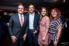 Ricardo Bacelar, Fernando Novais, Mariana Furlani e Glaides Esmeraldo