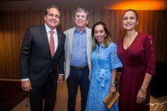 Ricardo Bacelar, Márcio, Márcia Távora e Manoela Bacelar