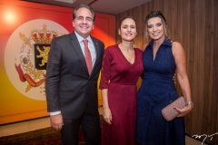 Ricardo Bacelar, Manoela Bacelar e Márcia Travessoni
