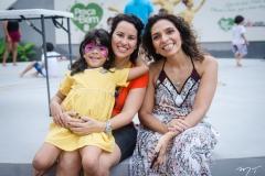 Ana Julia, Priscila Gadelha e Andrea Lemos