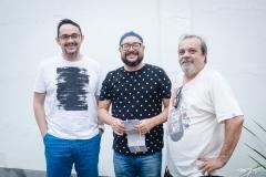 Daniel Dias, Tino Freitas e Eduardo Freire