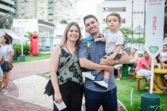 Daniele Sá, Saulo Sousa e Nicolas Sa de Sousa