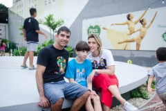 Fabio, Daniel Castro e Fernanda Cavalieri