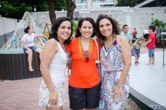 Grayce Lemos, Priscila Gadelha e Andrea Lemos