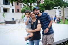 Ivens Gurgel, Gina Campos e Airton Gurgel