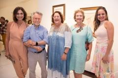 Ana Cristina Mendes, João Candido Portinari, Ana Cristina Martan, Márcia Martan e Ana Cristina