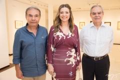 Cláudio Aguiar, Emilia Buarque e Max Perlingeiro