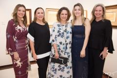 Emilia Buarque, Beatriz Fiuza, Marília Portinari, Luciana Lima e Bia Perlingeiro