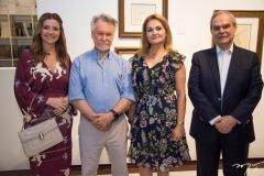 Emilia Buarque, João Candido Portinari, Lenise Queiroz Rocha e Max Perlingeiro