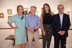 Márcia Martan, João Candido Portinari, Denise Montenegro e Max Perlingeiro