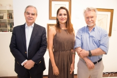 Max Perlingeiro, Manoela Bacelar e João Candido Portinari