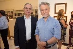 Max Perlingeiro e João Candido Portinari