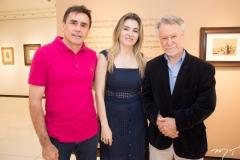 Pedro e Luciana Lima e João Candido Portinari