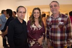 Sérgio Resende, Emilia Buarque e Mauro Costa