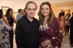 Sérgio Resende e Emilia Buarque