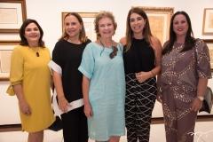 Sofia Erel, Beatriz Fiuza, Márcia Martan, Denise Montenegro e Jacqueline Durbay