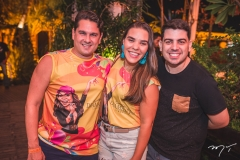 Rafael, Monique e Ricardo Bezerra