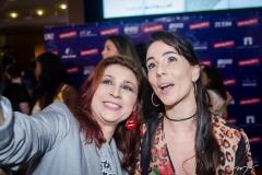 Patrícia Porto e Miriam Freeland