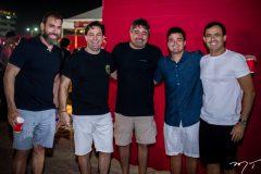 Alberto Figueiredo, Bernardo Albuquerque, Junior Eder Filho, Elcio Valencia e Flávio Quinderé