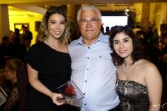 Adriana, Jorge Wilson e Tatiana Freire