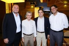 Adriano Nogueira, Pádua Lopes, Edson Queiroz Neto e Rafael Rodrigues