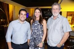 Alex Mendes, Ionar Vasconcelos e Bosco Carbogin