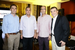 Carlos Fiúza, Kalil Otoch, João Carlos Lima e Ricardo Bezerra