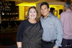 Cristina Chaul e Edilson Barbosa