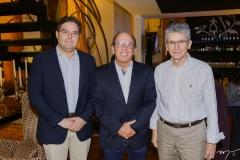 Edson Queiroz Nero, André Montenegro e Pádua Lopes